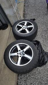 Like New Rims and Tires Great Deal 5 bolt pattern Sarnia Sarnia Area image 1