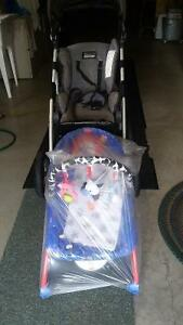 Stroller and lounge baby chair Peterborough Peterborough Area image 1