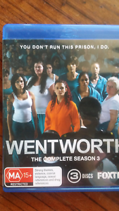 Wentworth season 3 blu-ray Cranbourne East Casey Area Preview