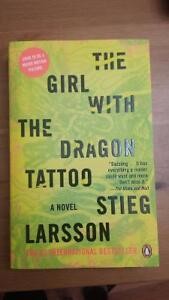 """""""The Girl with the Dragon Tattoo"""" Book (Brand New)"""