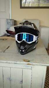 Gmax helmet and triple 9 goggles new!!!!!