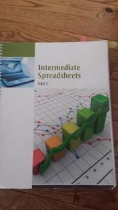 Intermediate Spreadsheets Textbook- 2016 NBCC