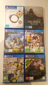Ps4 games for sale Jolimont Subiaco Area Preview