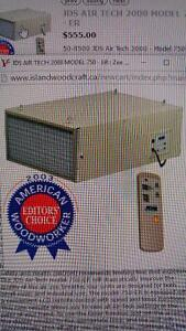 JDS AIR FILTRATION SYSTEM FOR SALE
