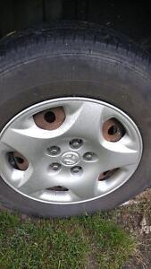 """15"""" Dodge Caravan tires and wheels"""