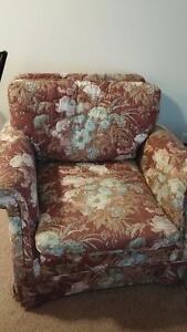 Matching chair and loveseat 140.00