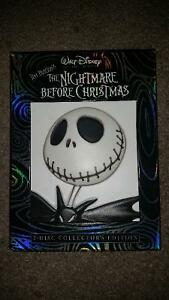 Tim Burton's Nightmare Before Christmas collector's edition DVD.
