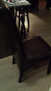 Parsons dining chairs Cambridge Kitchener Area image 2