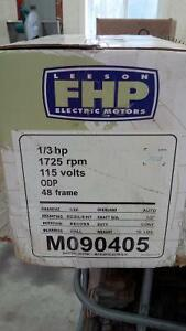 Like new 1/3 hp high efficiency Leeson furnace fan motor Kitchener / Waterloo Kitchener Area image 3