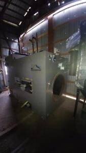 New Never Used Solid Fuel Boiler - BOILER ONLY - OSBY 750 KW Hot Water Boiler