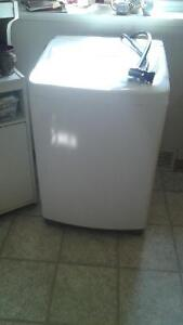 portable lg washer two years old