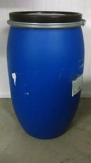 120lt food grade plastic drums