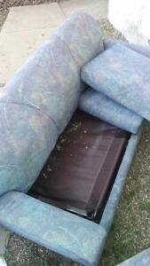 FREE Hide a bed couch and chair