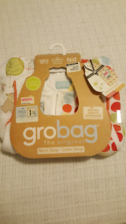 Genuine Grobag 6-18months 2.5 tog with Free Room thermometer.