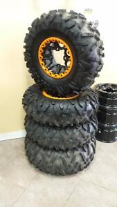 Brand New Maxxis Bighorn 2.0 tires and beadlock rims