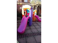 Little Tikes 8 in 1 climbing frame and slides