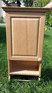 Handmade Red Maple Cabinet
