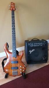 Professional Ibanez 4-string Bass Guitar