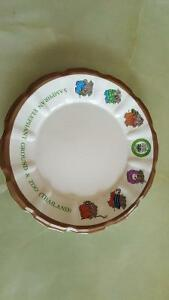 Thailand Zoo Collector plate