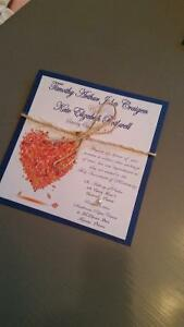 Wedding Invitations and Stationary Packages Kingston Kingston Area image 7