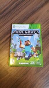 Minecraft for Xbox 360 + Case