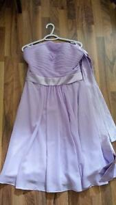 Lilac Bridesmaid Dress (Could be Prom Dress) size 12