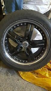 "17"" MAGS MUSTANG CHRYSLER DODGE MAZDA HONDA TOYOTA LINCOLN FORD"