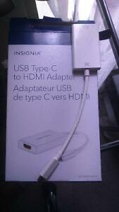 USB-Type C to HDMI Adaptor for MAC