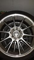 "17"" fast wheels 4x100 and 4x114.3 with decent 205/40zr17"