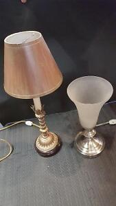 2 nice table lamps