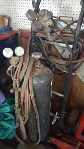 Acetylene tank torch gages