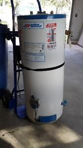 Natural gas water heater, end of life.