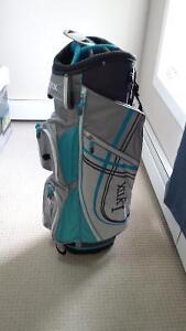 New golf bag and putter (ladies)