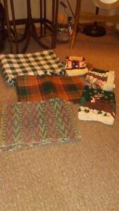 Placemats-tablecloth- new Xmas towels