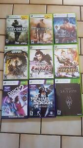 Multiple 360 games for sale