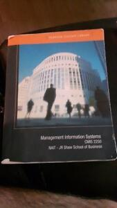 Management information systems(cmis 2250)