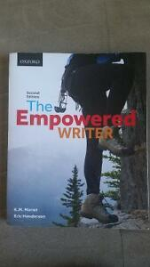 The Empowered Writer textbook Peterborough Peterborough Area image 1
