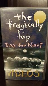 Tragically Hip - RARE - Day for Night Videos VCR