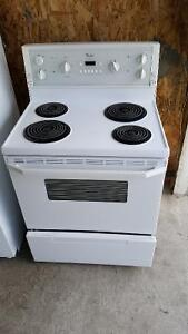"WHITE STOVE FOR SALE, ""WHIRLPOOL BRAND"" PRICED @  $150 DOLLARS!!"