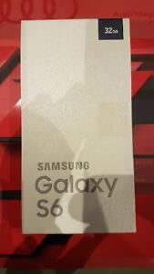 Brand new sealed Samsung Galaxy S6 on Roger's
