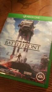 Star wars battlefront mint condition Xbox one