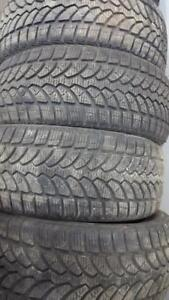 4X 225 50 17 Bridgestone Blizzak  winter tires Pneus D'hiver 400