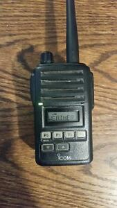 Icom IC-F50 Intrinsically Safe Waterproof VHF Radio
