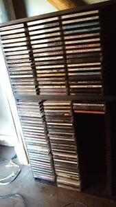 Over 150 CD's and stand