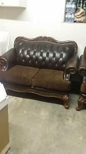 3 piece leather couch set London Ontario image 1