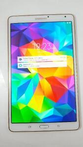 "White Samsung Galaxy Tab S 8.4"" WiFi"