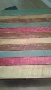 Boho beach pallet table