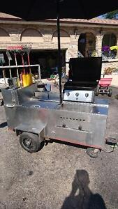 STAINLESS STEEL FERGUSON HOT DOG STAND FOR SALE!!!