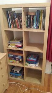 Bibliothèque Ikea parfaire pour chambre enfant