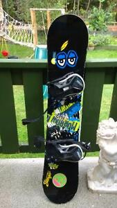Morrow Snowboard 128cm with bindings